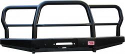 Бампер передний РИФ УАЗ Hunter универсальный с трубным кенгурином (469-10603)