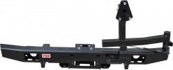 Бампер задний РИФ УАЗ-452 с площадкой под лебедку и калиткой (452-21230)